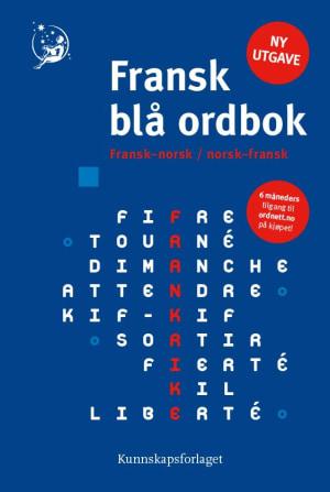 Fransk blå ordbok