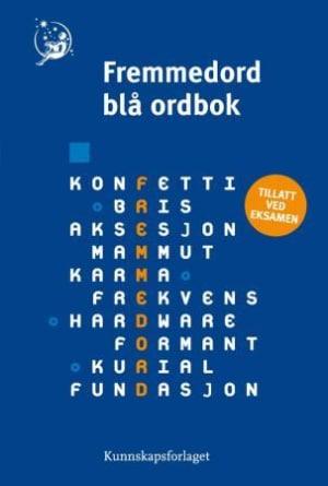 Fremmedord blå ordbok