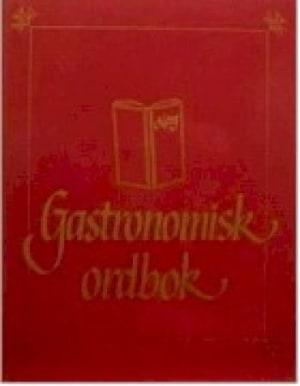 Gastronomisk ordbok