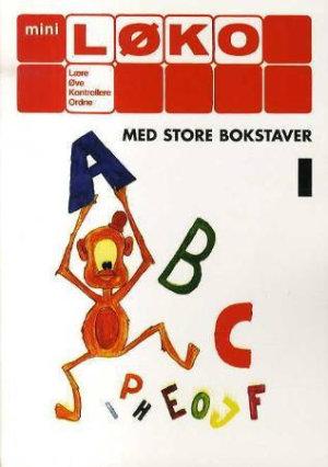 ABC 1 (store bokstaver) (Miniløko)