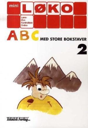 ABC med store bokstaver 2