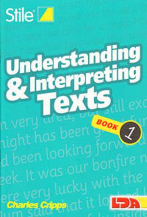 Understanding & interpreting texts 1-12