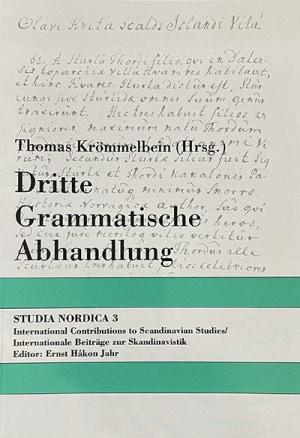 Dritte Grammatische Abhandlung