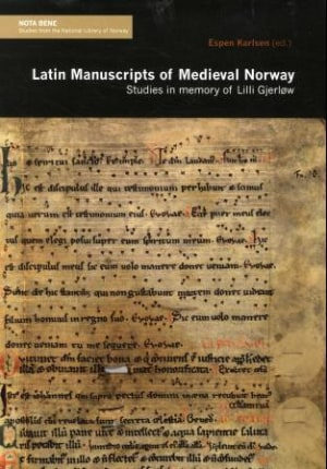 Latin manuscripts of medieval Norway