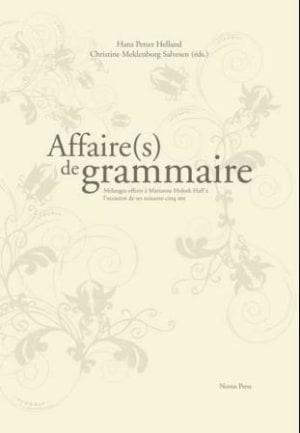 Affaire(s) de grammaire