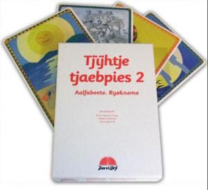 Tjijhtje tjaebpies 2. Aalfabeete. Ryøkneme. 65 alfabet- og matematikkort. Læremiddel for barnehage