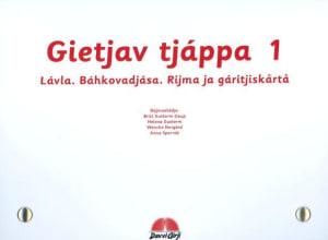 Gietjav tjáppa 1. Lávla. Báhkovádjása. Rijma ja gáritjiskårtå. 10 sangkort. 10 kort med ordtak. 10 kort med rim og regler. Læremiddel for barnehage