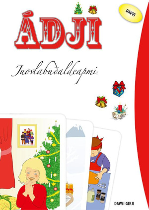 Ádji juovlabudaldeapmi. 30 tekst- og billedkort