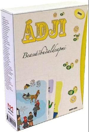 Ádji. Beassalbudaldeapmi. 30 tekst- og billedkort