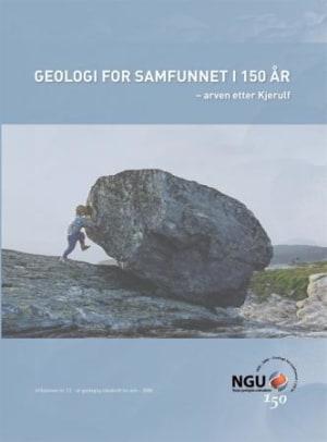 Geologi for samfunnet i 150 år