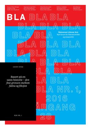 BLA - Bokvennen litterær avis. Nr. 1 2016