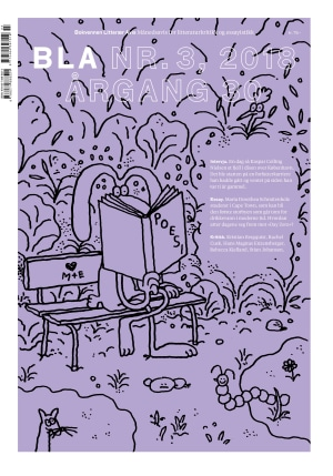 BLA - Bokvennen litterær avis. Nr. 3 2018