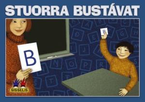 Stuorra bustávat. Spill med 29 bokstavkort til lærer og 290 bokstavkort til elever