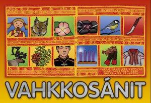 Vahkkosánit. Spill med 144 kort