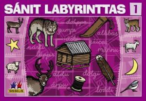 Sánit labyrinttas 1. Spill med 6 brett, 6 terninger og 24 flyttebrikker. 2-4 deltakere
