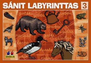 Sánit labyrinttas 3. Spill med 6 brett, 6 terninger og 24 flyttebrikker. 2-4 deltakere