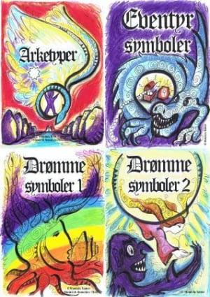 Arketyper og symboler. 4 kortstokker