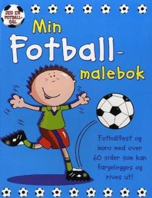 Min fotball-malebok