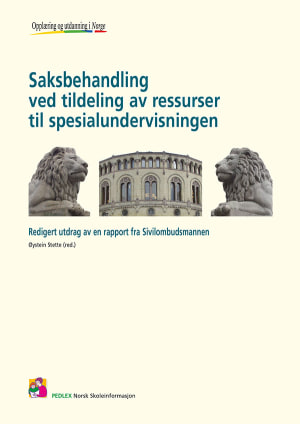 Saksbehandling ved tildeling av ressurser til spesialundervisningen 2008