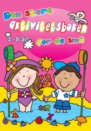 Den store aktivitetsboken for de små. Rosa