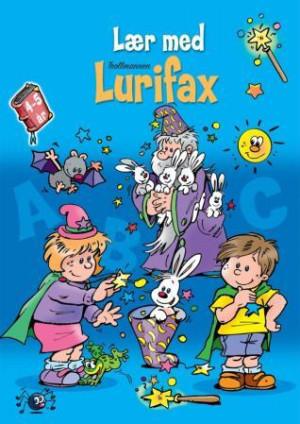 Den blå boken. Lær med trollmannen Lurifax. 4-5 år