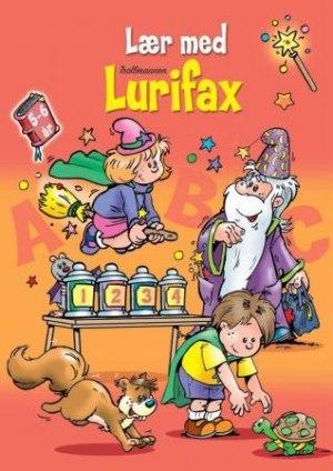 Den oransje boken. Lær med trollmannen Lurifax. 5-6 år