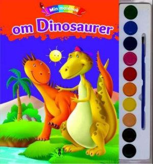 Min malebok om dinosaurer