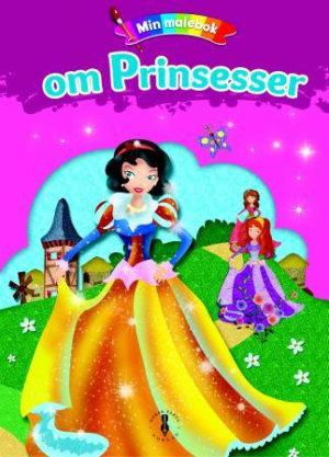 Min malebok om prinsesser. Med malerskrin