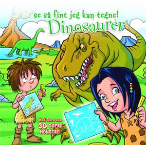 Dinosaurer. Se så fint jeg kan tegne!
