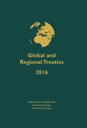 Global and regional treaties 2016