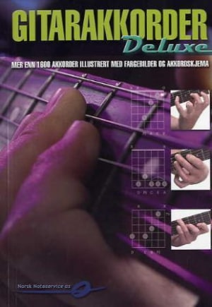 Gitarakkorder deluxe
