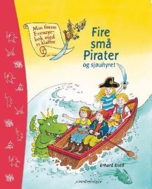 Fire små pirater og sjøuhyret