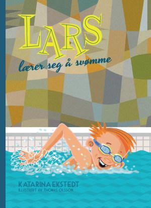Lars lærer seg å svømme