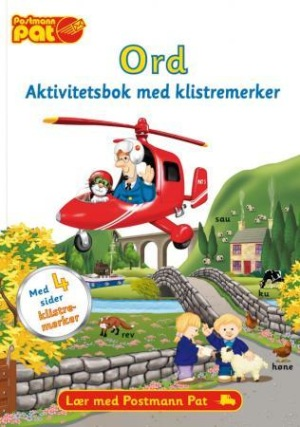 Postmann Pat. Ord. Aktivitetsbok med klistremerker. Lær med postmann Pat