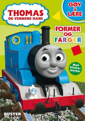 Thomas og vennene hans. Former og farger
