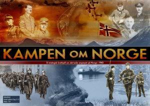 Kampen om Norge. Et brettspill om det tyske angrepet på Norge i 1940