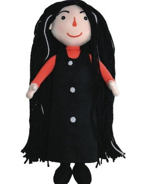 Pulverheksa dukke
