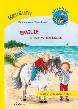 Emilie drar på rideskole