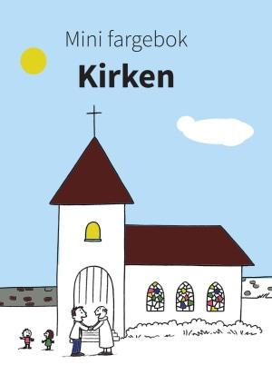 Mini fargebok. Kirken