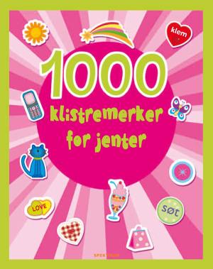 1000 klistremerker for jenter