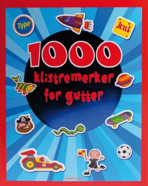 1000 klistremerker for gutter