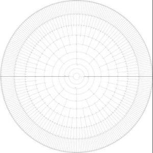 Slektssirkel basert på Stradonitz system. 70 cm. Pakke á 3 stk