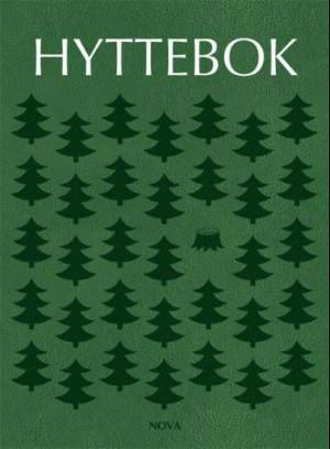 Hyttebok. Skog. Grønn forside