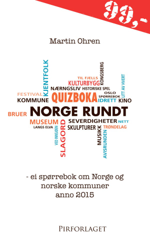 Quizboka Norge rundt