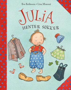 Julia henter sokker