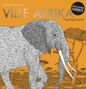 Ville Afrika. Fargeleggingsbok