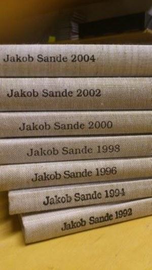 Årbokpakke Jakob Sande 1992-2004