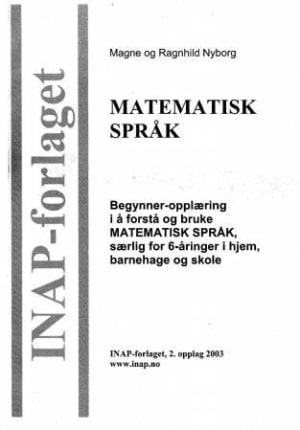 Begynner-opplæring i å forstå og bruke matematisk språk