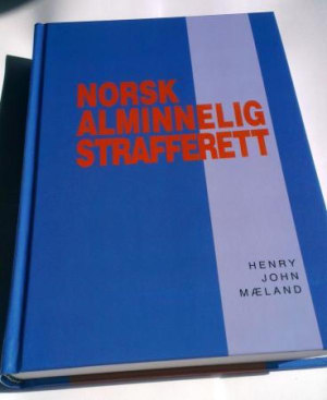 Norsk alminnelig strafferett
