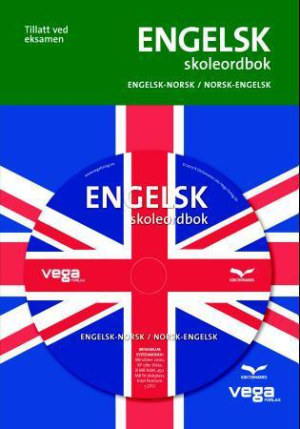 Engelsk skoleordbok m/cd